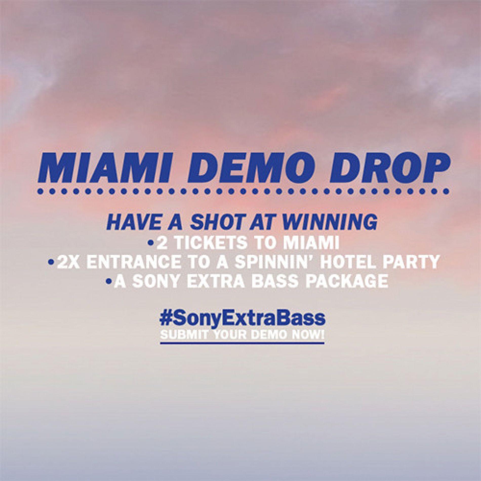 Miami Demo Drop | Contest | Spinnin' Records