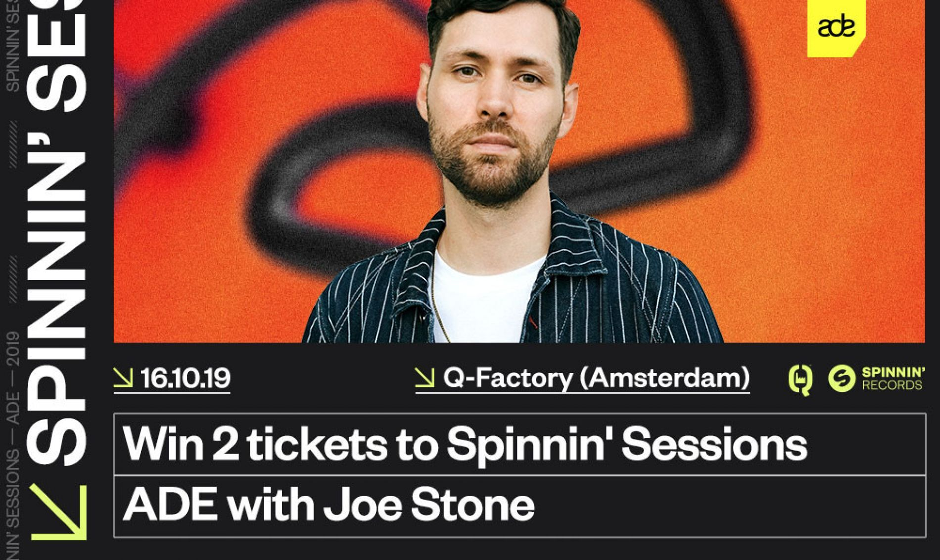 Win tickets to Spinnin' Sessions during Amsterdam Dance Event!