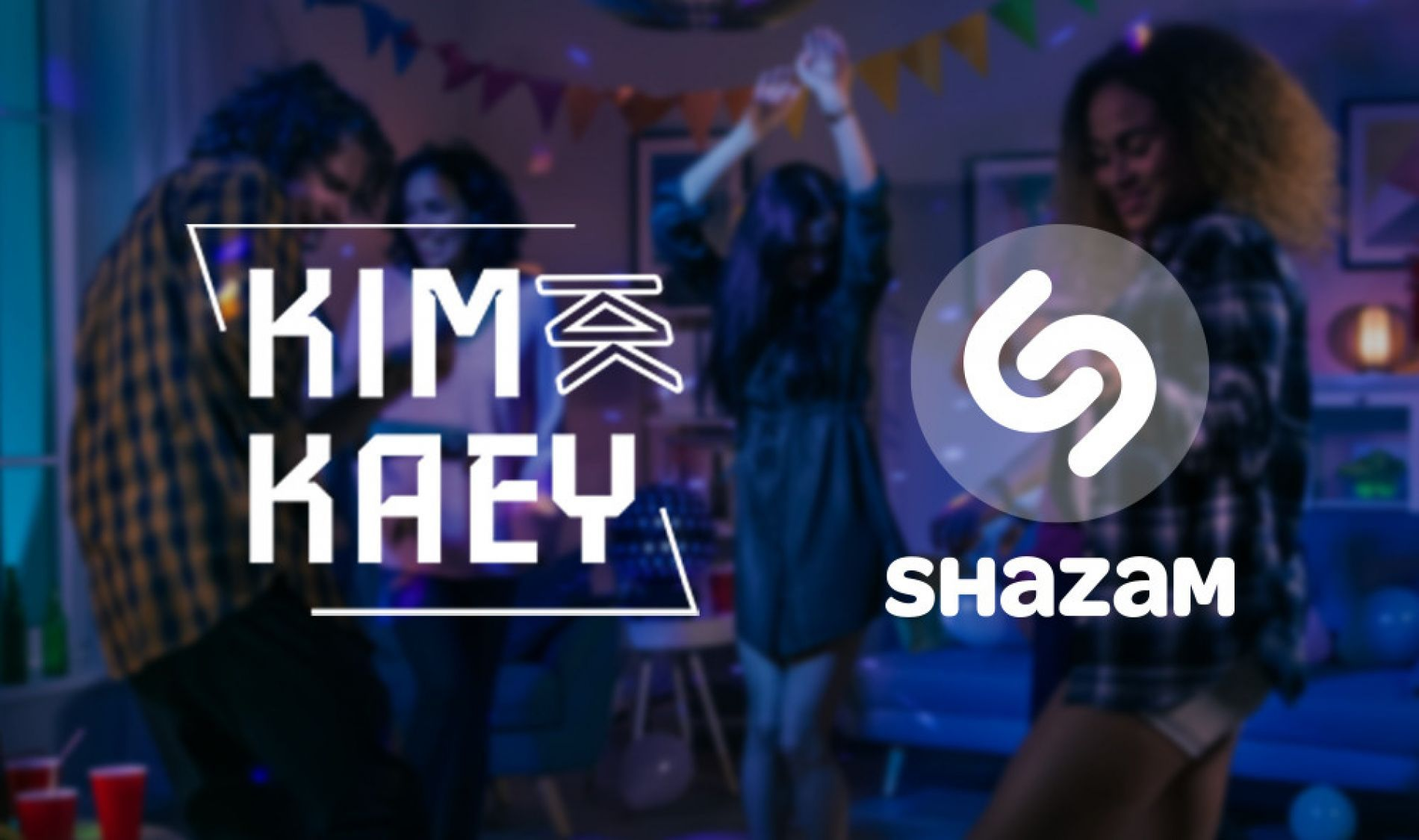 Shazam to win a private houseparty with Kim Kaey!