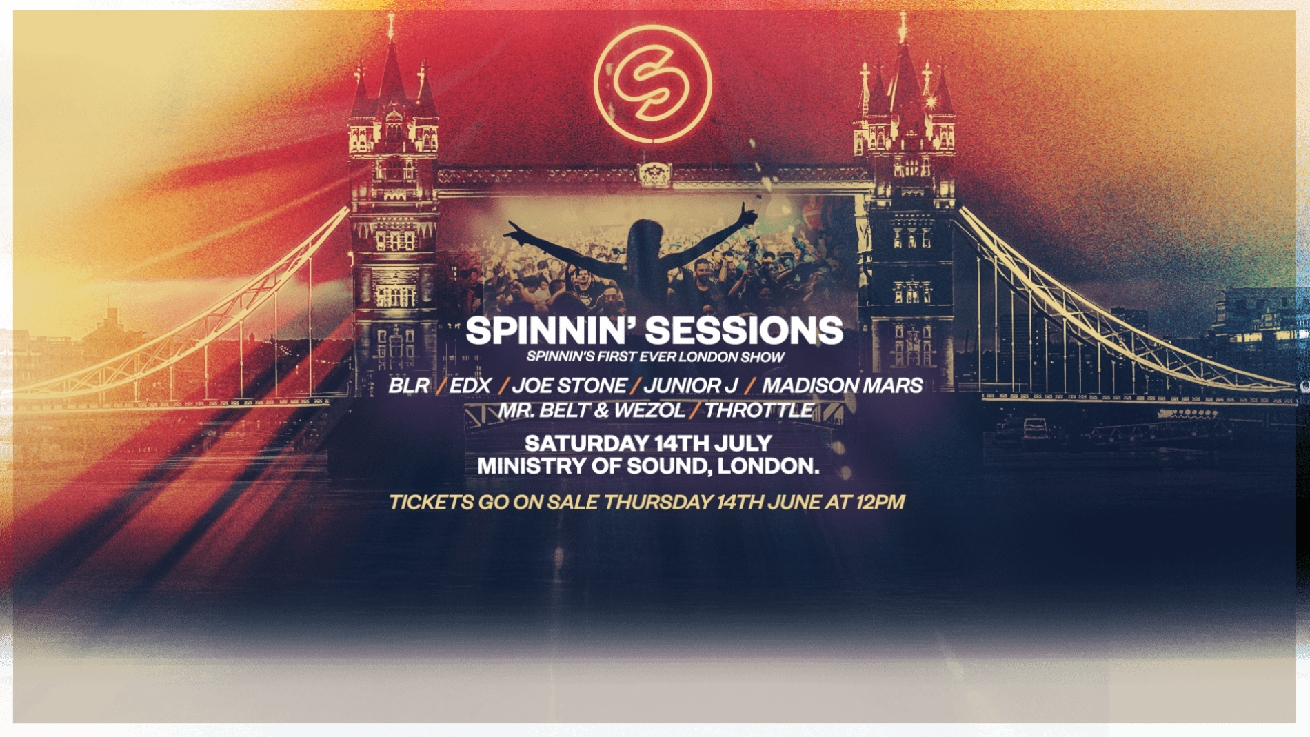 Spinnin' Sessions Spinnin' Sessions London - Ministry of Sound