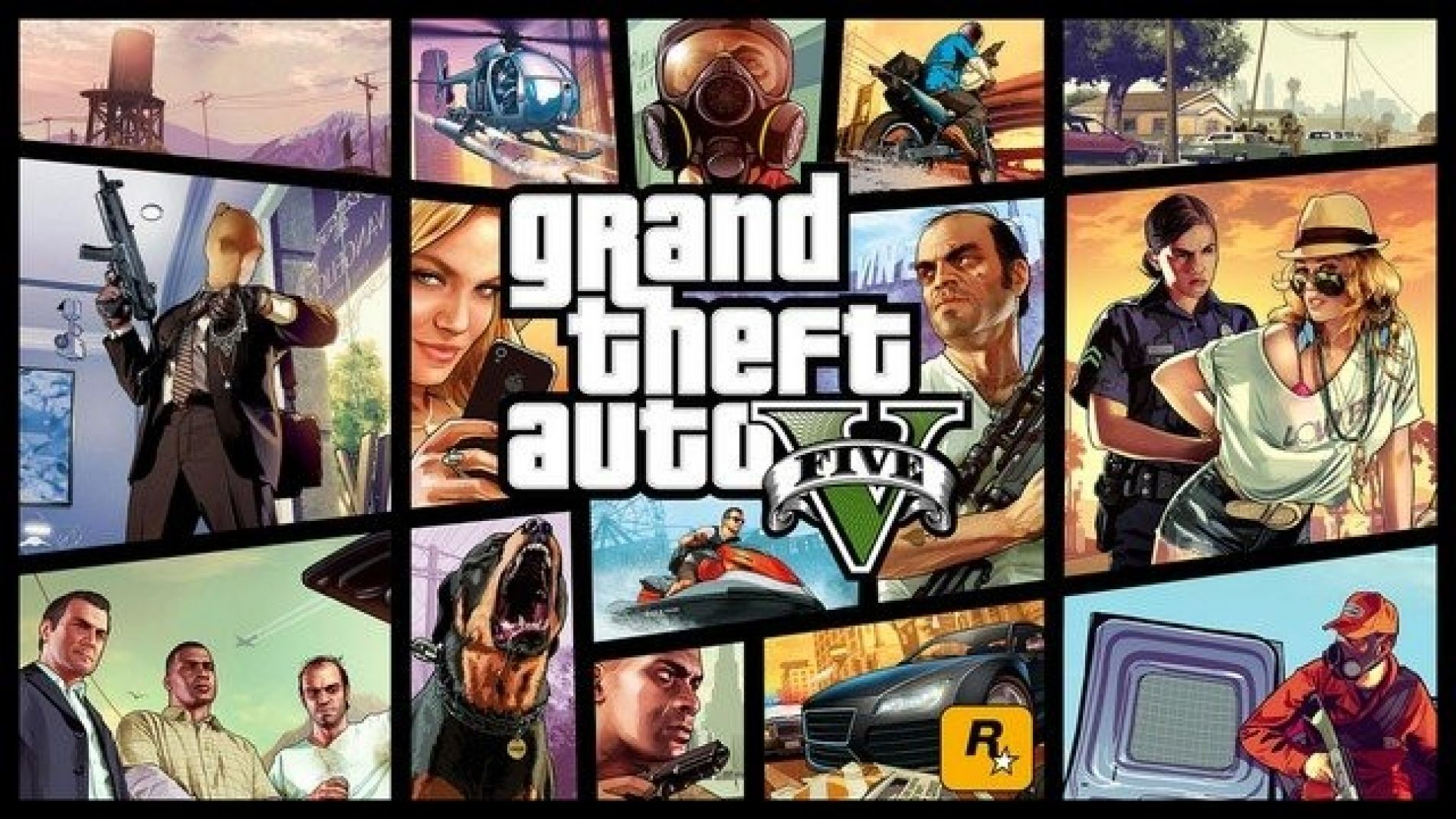 'Let's Go All The Way' - Grand Theft Auto V PS4 Launch Trailer
