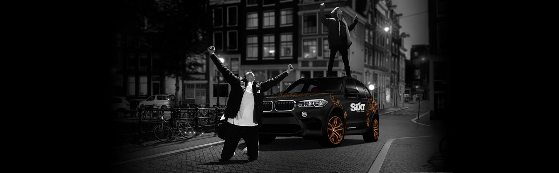 Sixt x Mr. Belt & Wezol's Demo ride