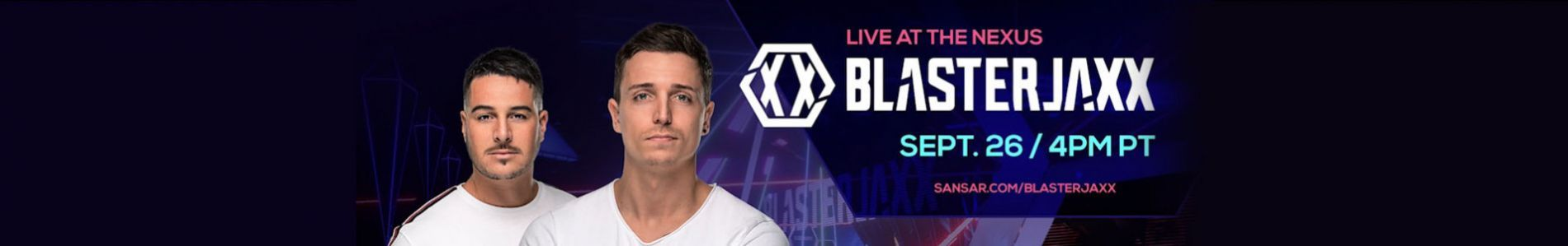 Blasterjaxx gave a virtual reality concert in Sansar