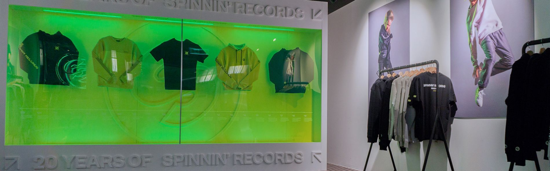 Spinnin' Records ADE Pop-up store 2019