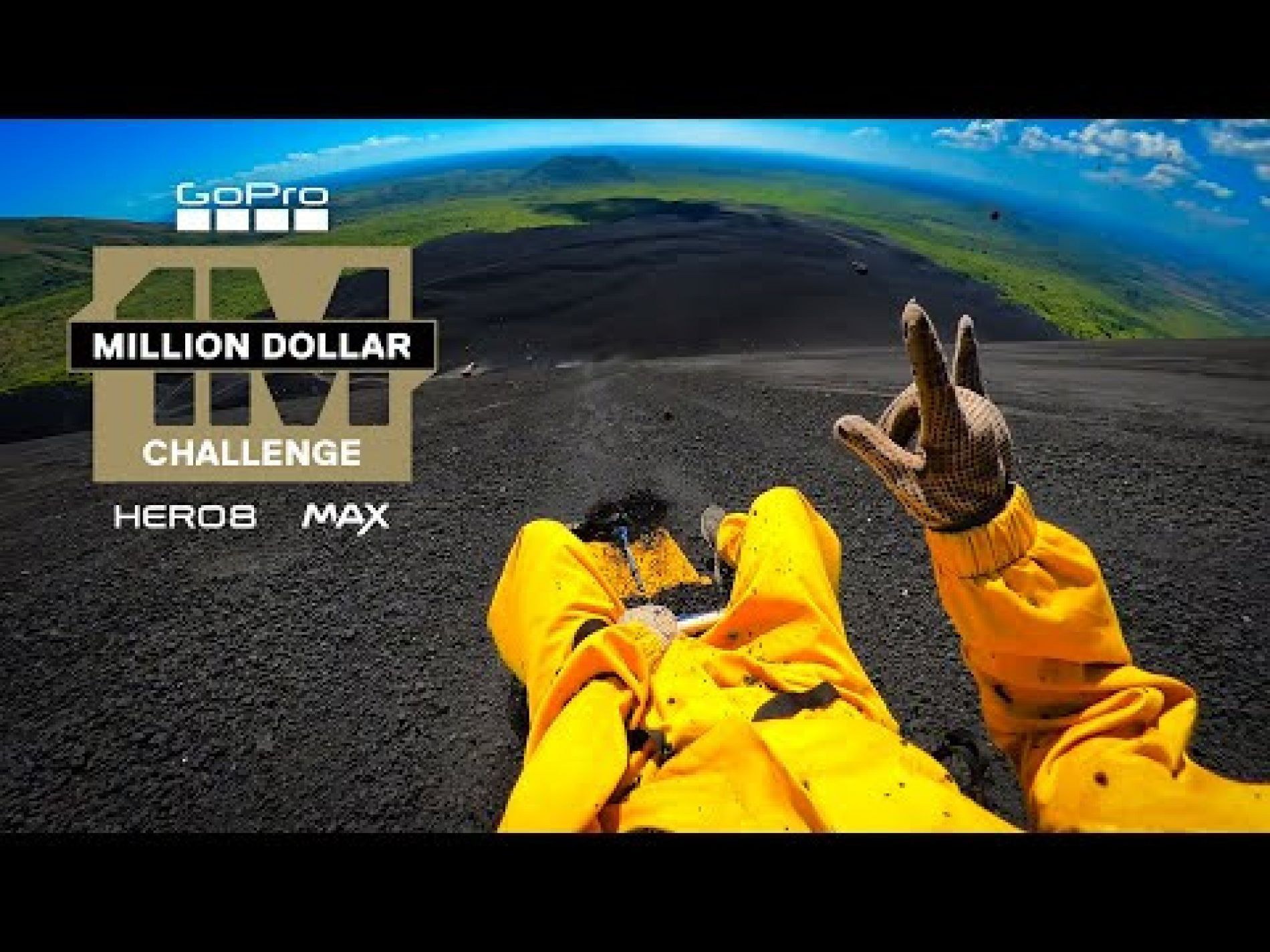 'Ava' by Garmiani in amazing GoPro 'Million $ challenge'  video!