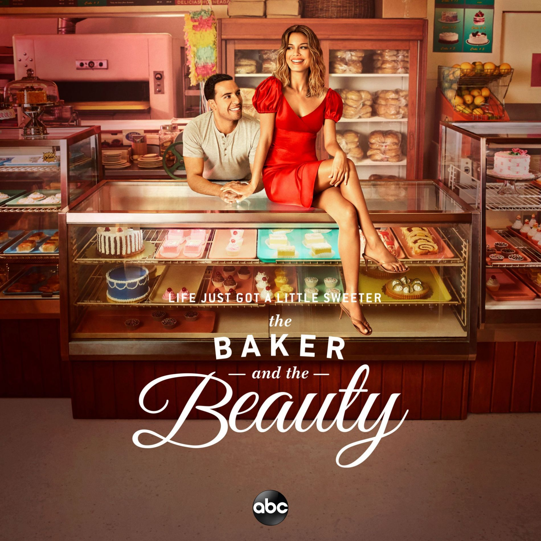 Mariana Bo - Ole Ole in ABC TV series promo 'The Baker  & The Beauty'