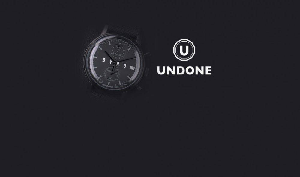 Undone x Dyro watch