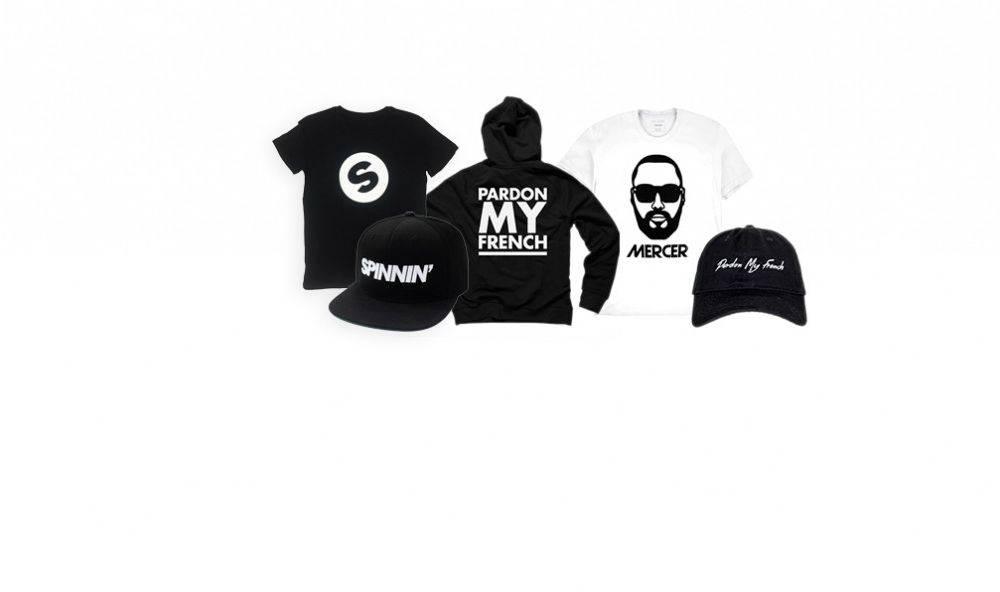 MERCER + Spinnin' merchandise