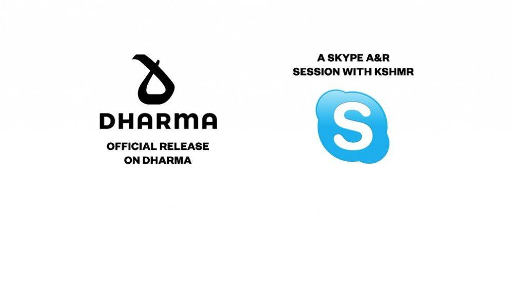 Official Release on Dharma Music & Private Skype A&R Session with KSHMR