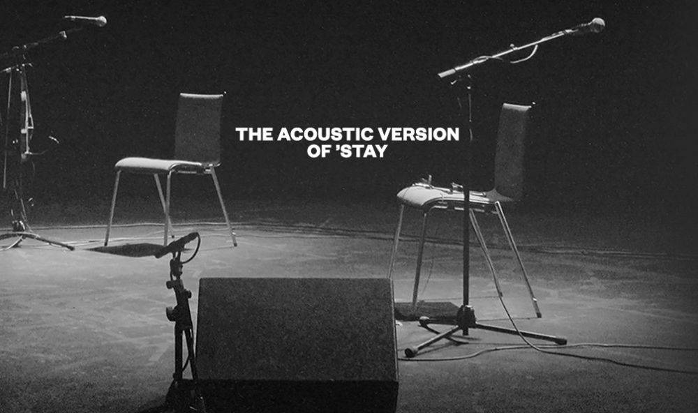 Download the Acoustic Version of 'Stay' now!