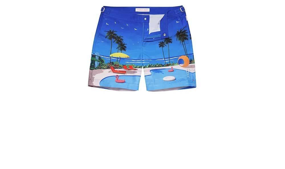 Swim short designed by Orlebar Brown & Sam Feldt