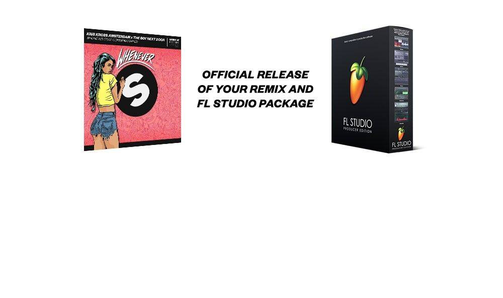 Official release of your remix and FL Studio package