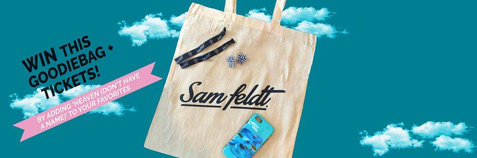 Tickets to a Sam Feldt show + Sam Feldt Goodiebag