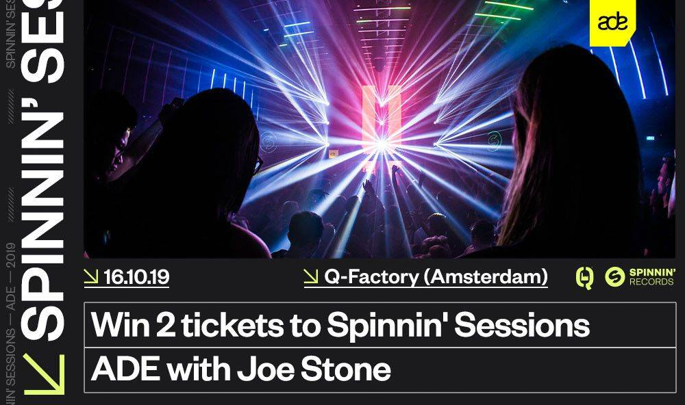 2 tickets to Spinnin' Sessions during Amsterdam Dance Event!