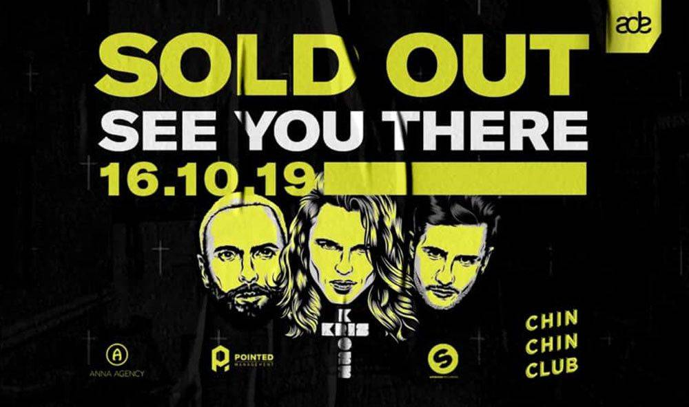 Last tickets to Kris Kross Amsterdam show in Chin Chin Club during Amsterdam Dance Event