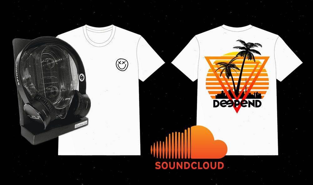 Win Spinnin' Headphones and a Deepend shirt!