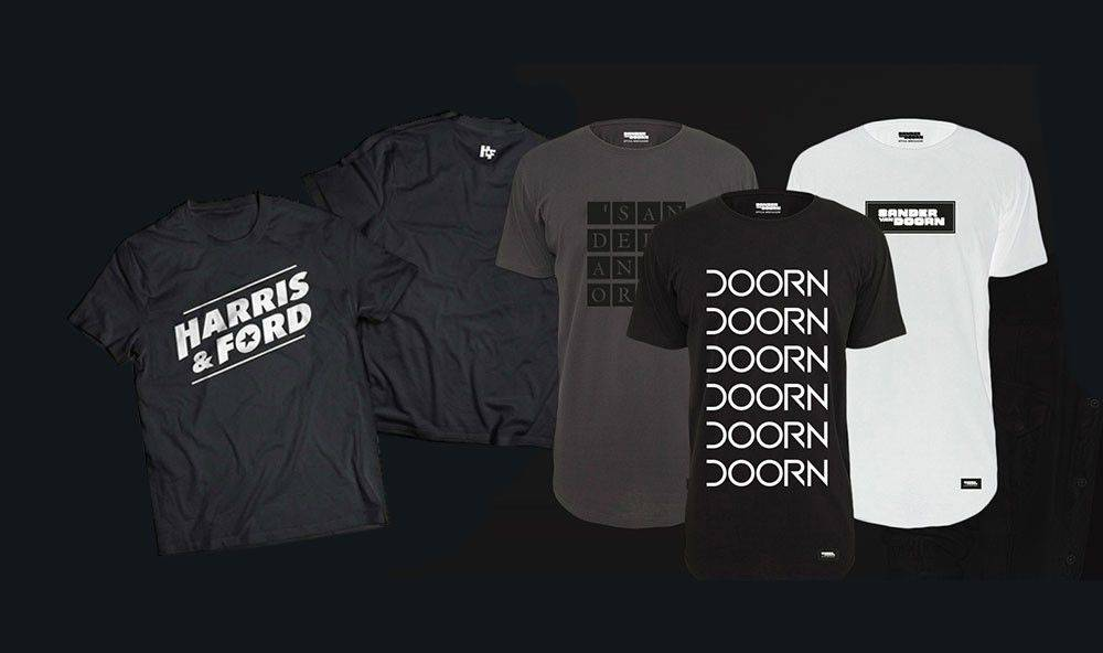 Sander van Doorn and Harris & Ford merchandise pack