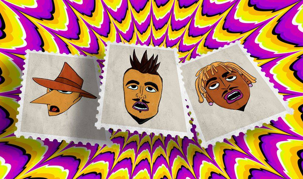 Exclusive Rich the Kid, Tungevaag and Rat City stamps!