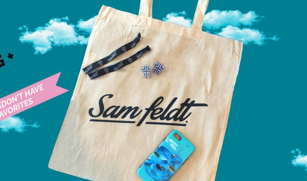 Win tickets to a Sam Feldt show  and a Sam Feldt Goodiebag