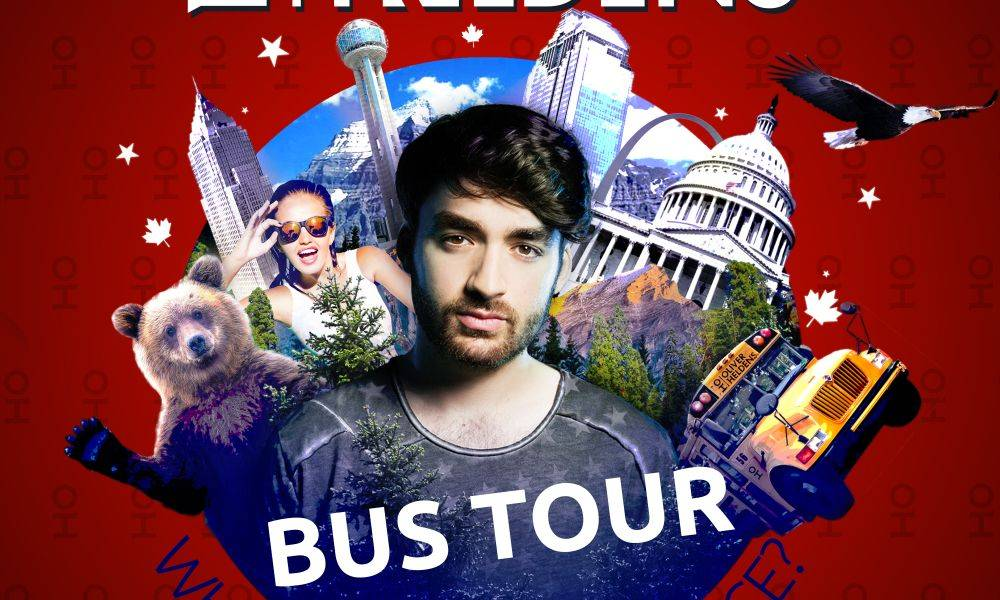 Win tickets to Oliver Heldens' upcoming N-American bus tour!