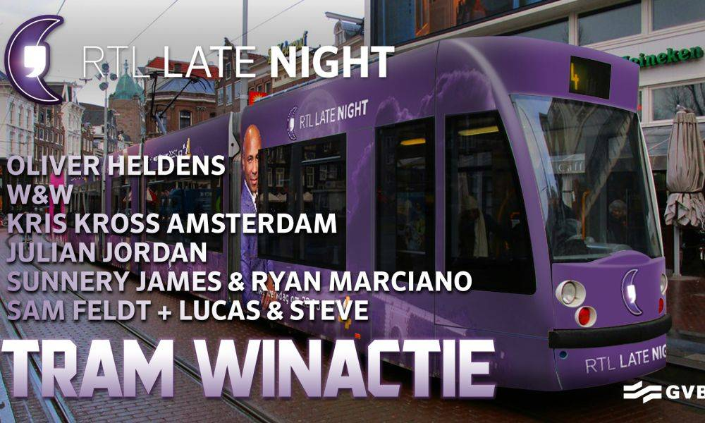 Join the Spinnin' DJ's in an Amsterdam tram