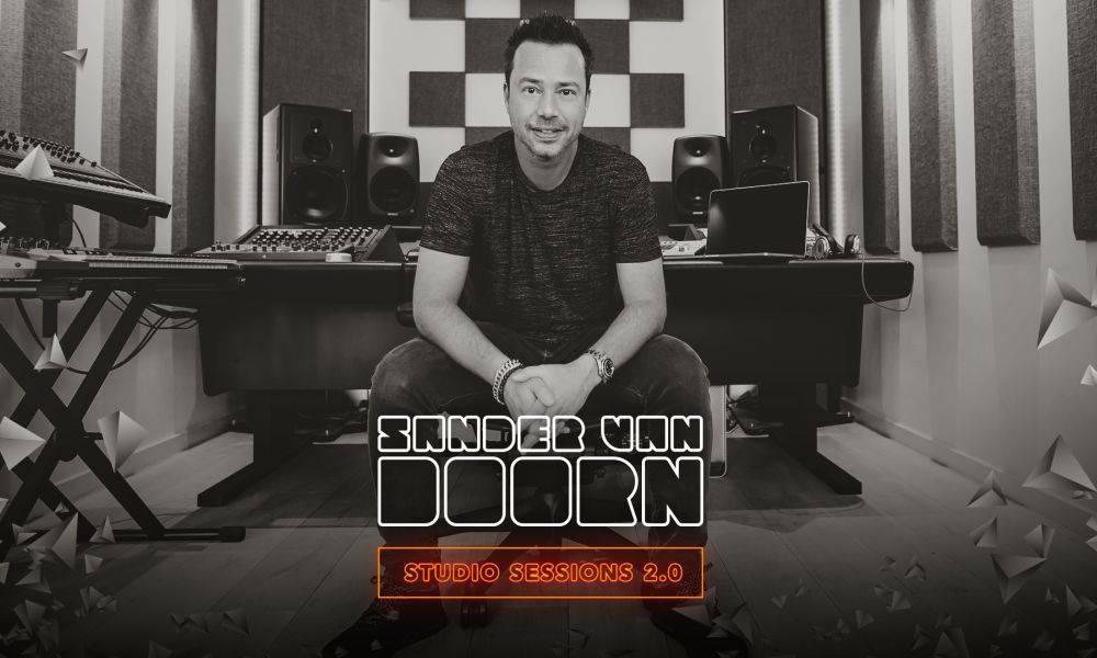 Watch Sander van Doorn in the studio!