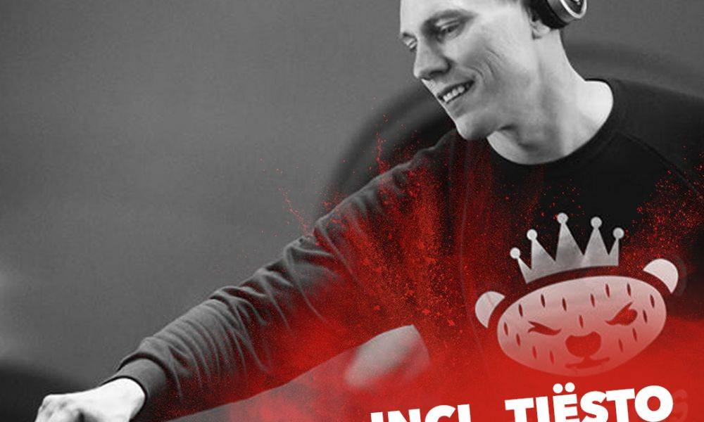 Here's Tiësto mixing things up