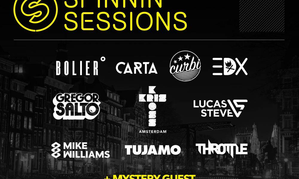 This is Spinnin' Records at Amsterdam Dance Event