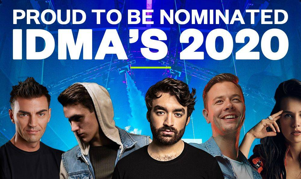 Spinnin' Records artists and label nominated for IDMA's - vote now!