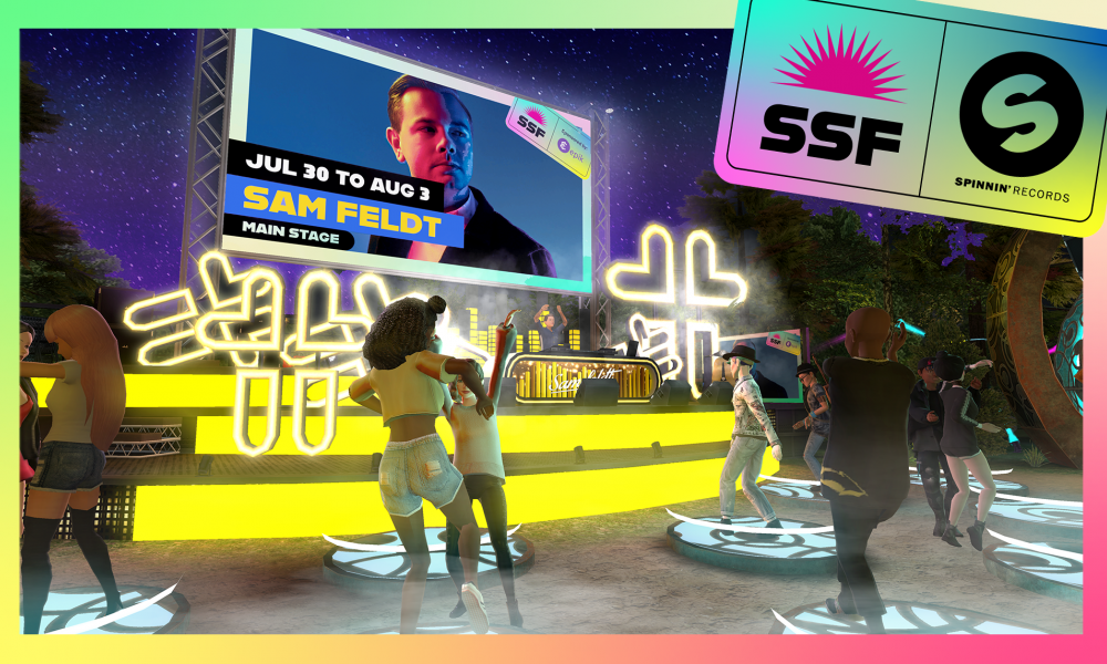 HOUSE MUSIC SUPERSTAR SAM FELDT TO PERFORM FOR HUNDREDS OF THOUSANDS EVERY DAY ON AVAKIN LIFE APP, JULY 30-AUGUST 3