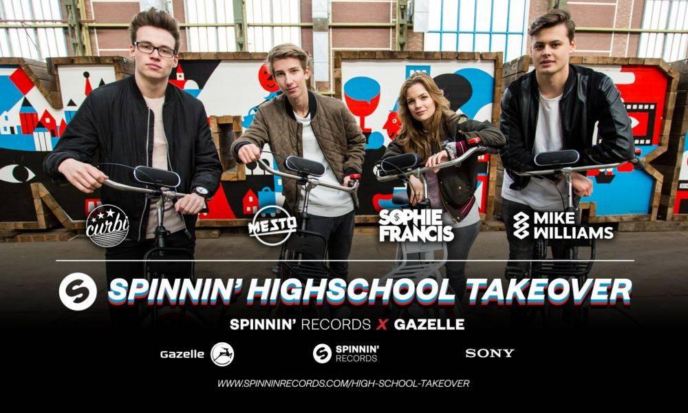 Spinnin' High school takeover