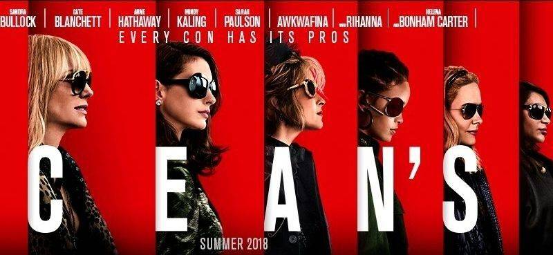 'Throttle - Hit The Road Jack'  in Ocean's 8 Trailer (Movie Trailer)
