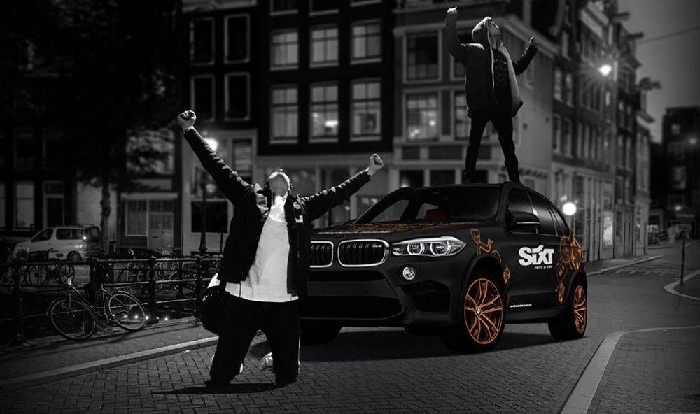 Sixt x Mr. Belt & Wezol's Demo ride