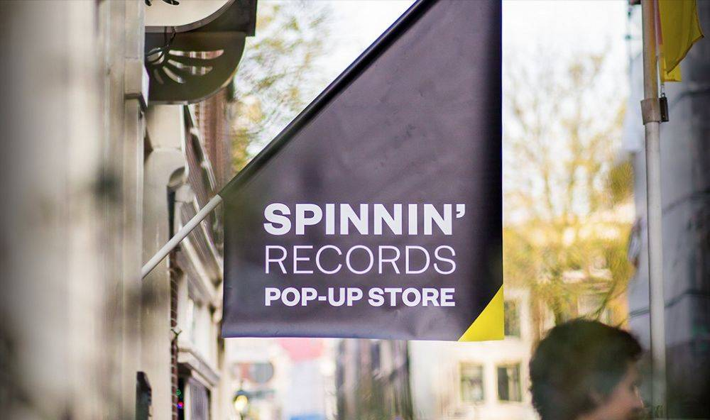 SPINNIN' RECORDS ADE POPUP STORE