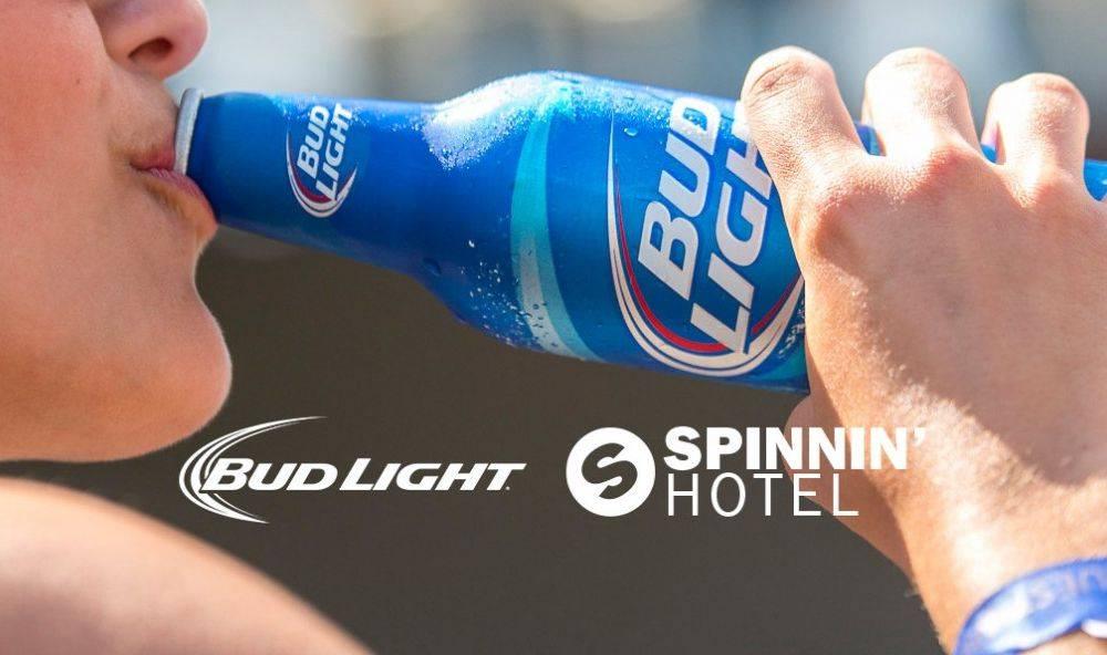 Spinnin' Hotel & Bud Light
