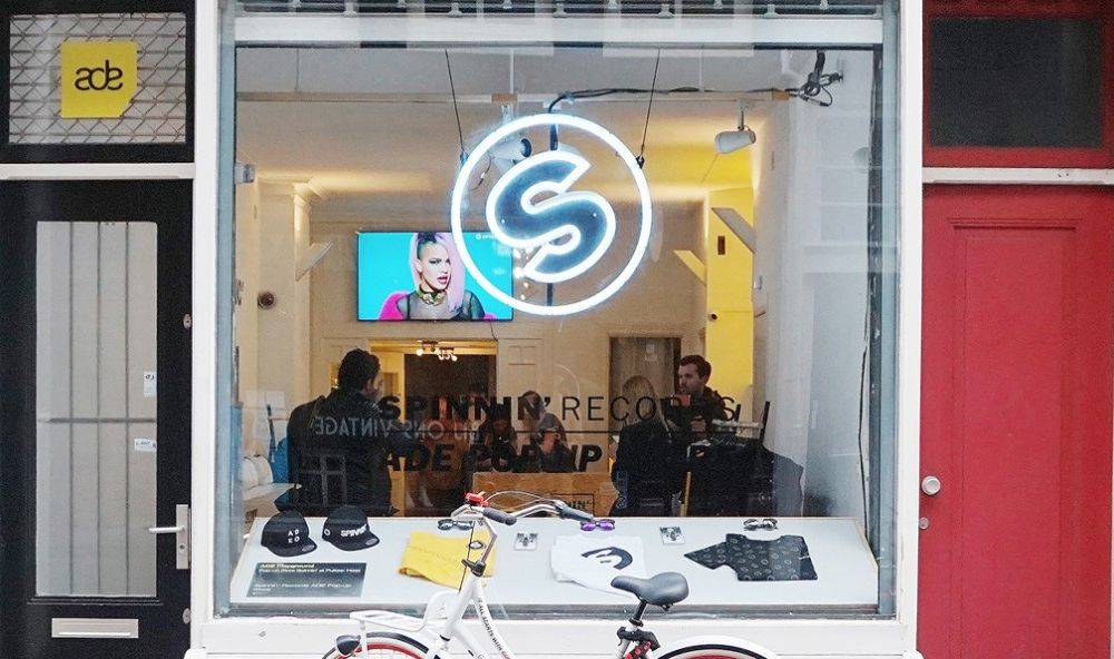 ADE Pop-Up Store with Sony, Absolut and Gazelle