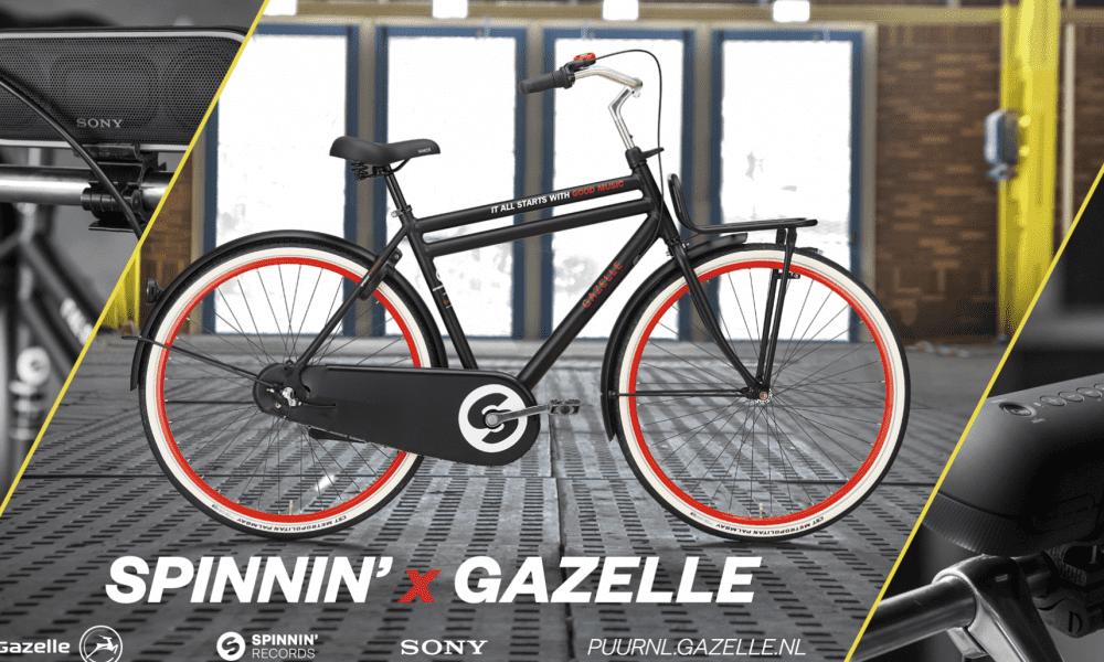 Spinnin' by Gazelle, a limited edition bike