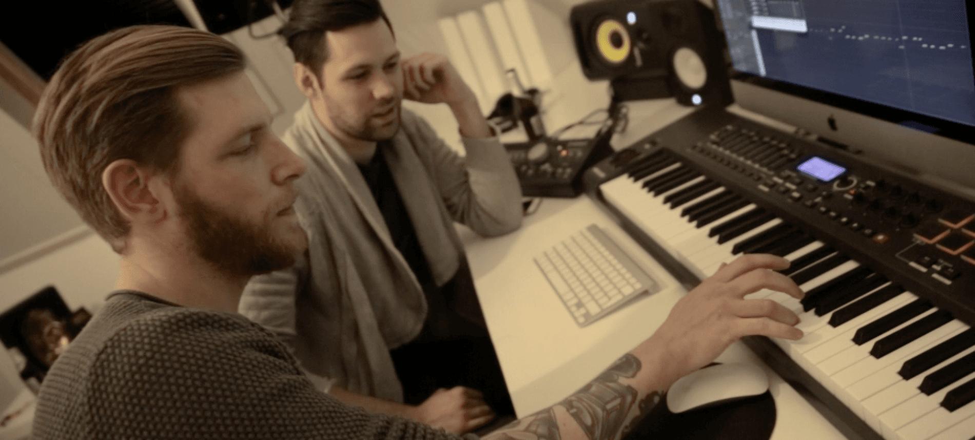 Take a look in the studio with Joe Stone & Ferreck Dawn