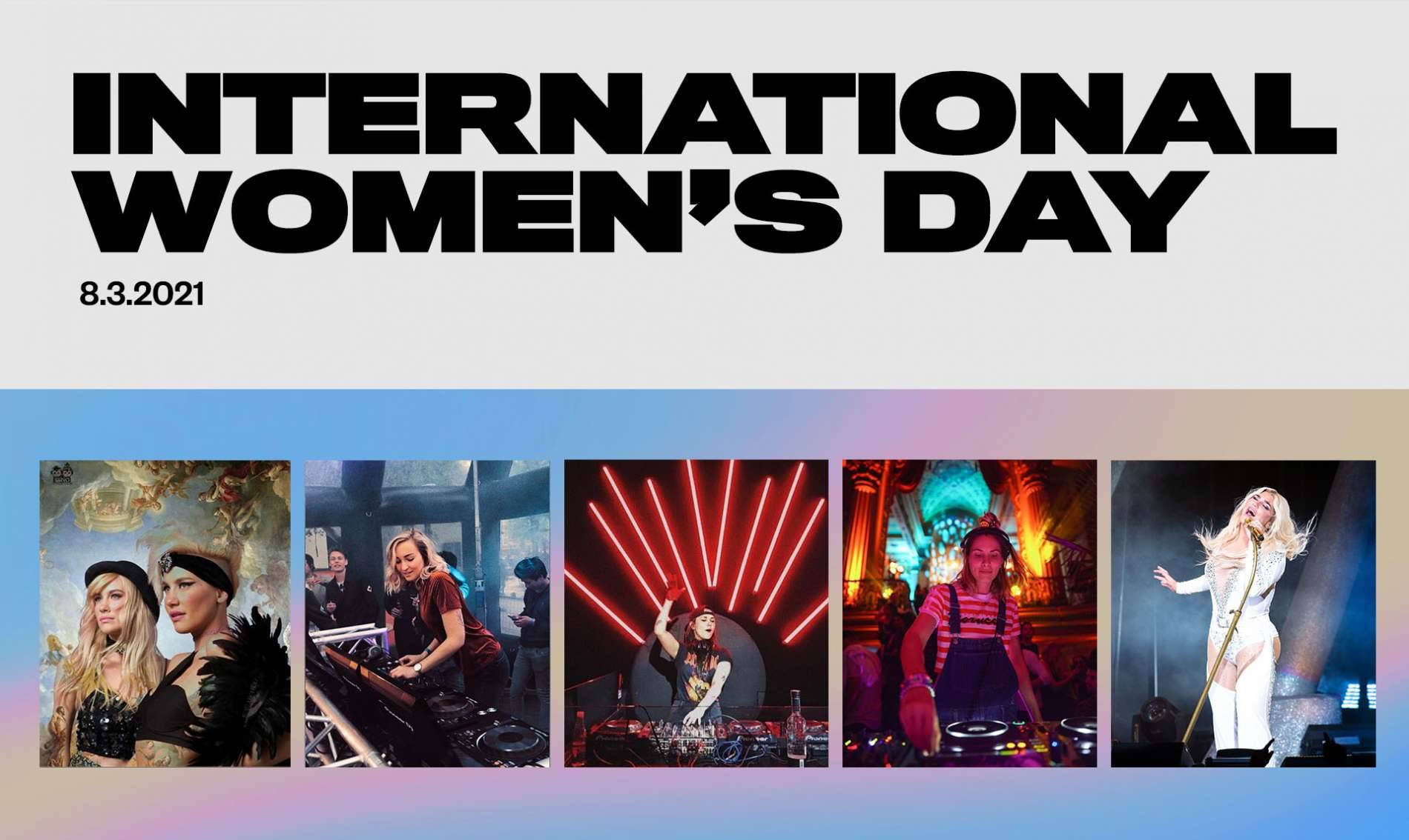 5 FEMALE ARTISTS TO LOOK OUT FOR ON INTERNATIONAL WOMEN'S DAY