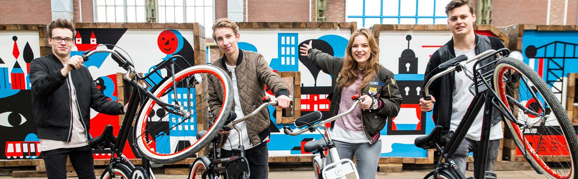 Spinnin' High School Takeover - Bike Tricks