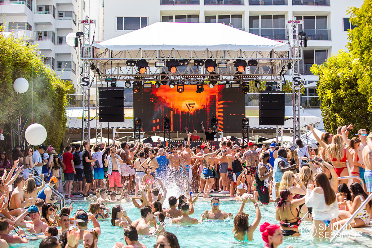 Watch The First Pics Of Spinnin Sessions Miami Pool Party