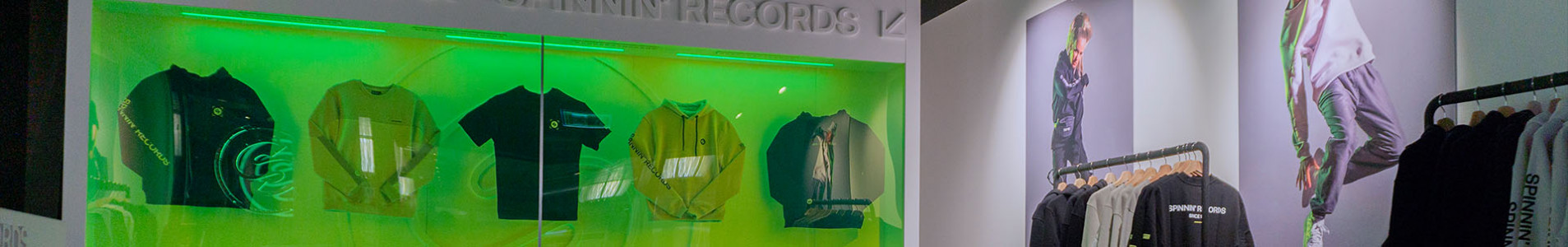 Spinnin' Records Pop-up Store officially open!