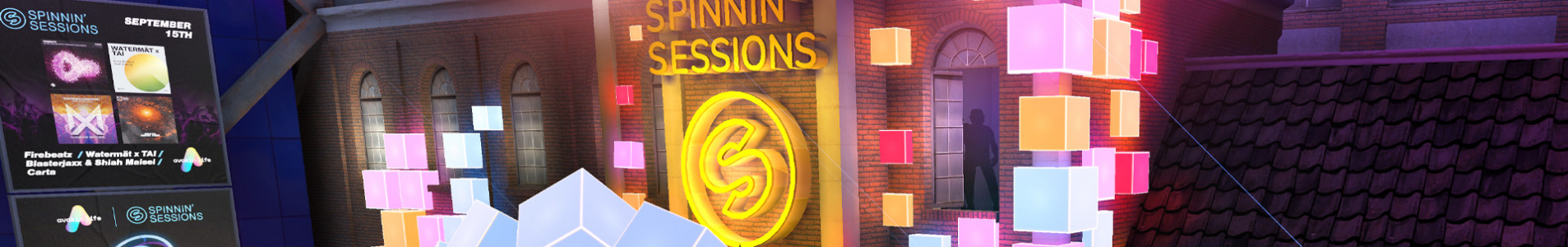 The virtual Spinnin' Sessions is back on Avakin Life with new music from some of our finest artists!
