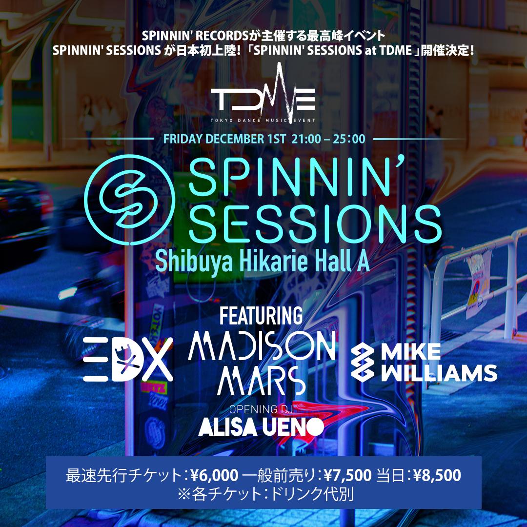 Spinnin' Sessions Tokyo 2017 ile ilgili görsel sonucu