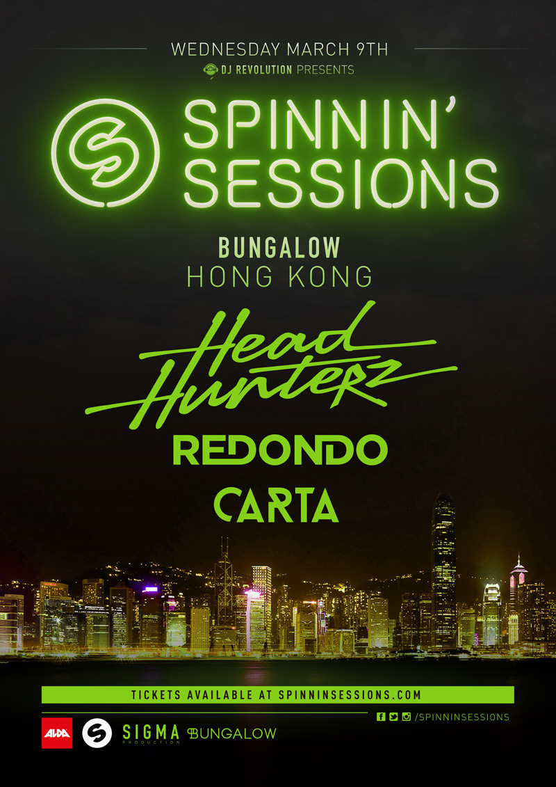 Spinnin' Sessions ASIA TOUR (Hong Kong)
