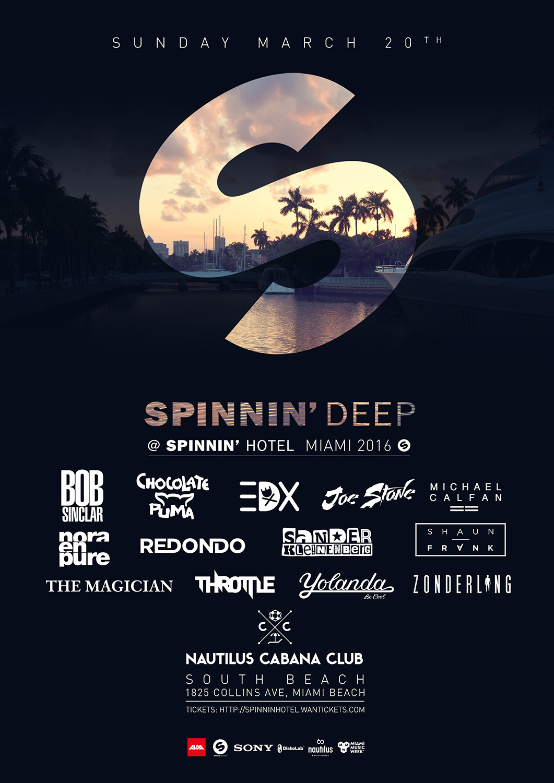 Spinnin' Deep Miami 2016
