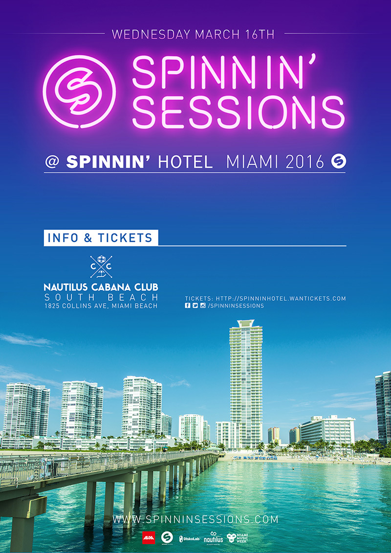 Spinnin' Sessions Miami 2016