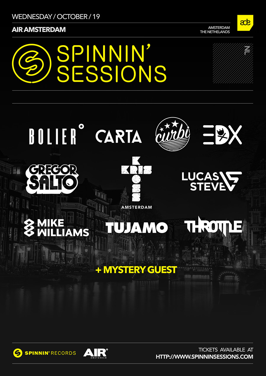 Spinnin' Sessions ADE 2016